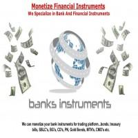 SBLC BG MT760 Monetization Loan Trade Program