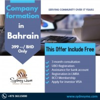 Company Formation in Bahrain BD 399 only
